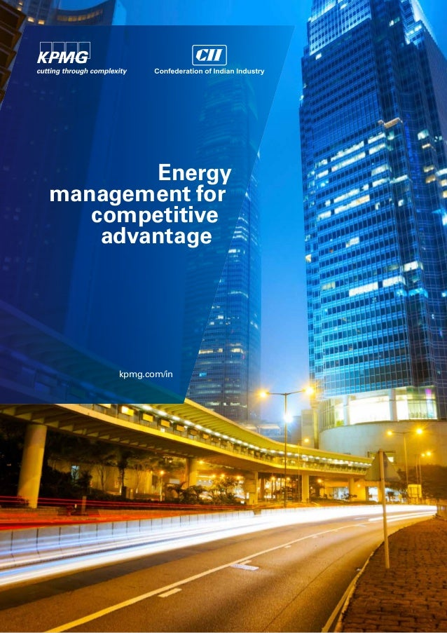 Energy management for competitive advantage  kpmg.com/in