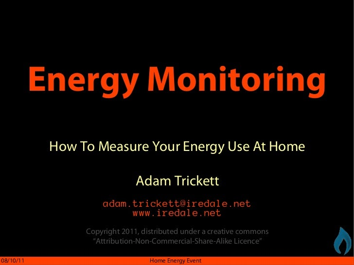 Energy Monitoring            How To Measure Your Energy Use At Home                               Adam Trickett           ...