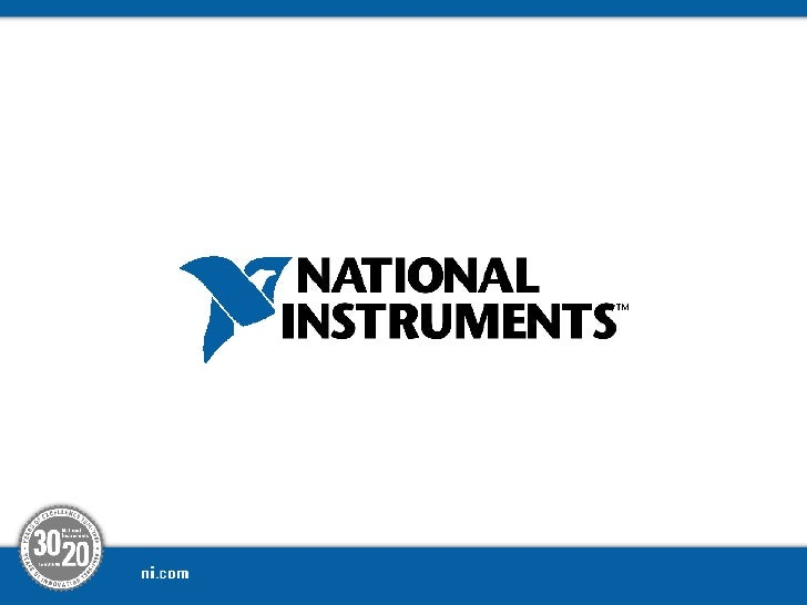 National Instruments Confidential