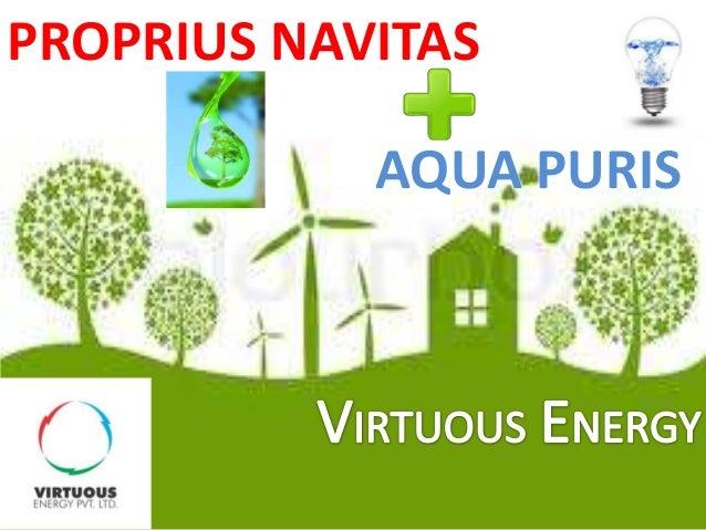 PROPRIUS NAVITAS  AQUA PURIS