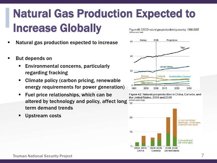 Natural Gas Production Expected to    Increase Globally    Natural gas production expected to increase    But depends on...
