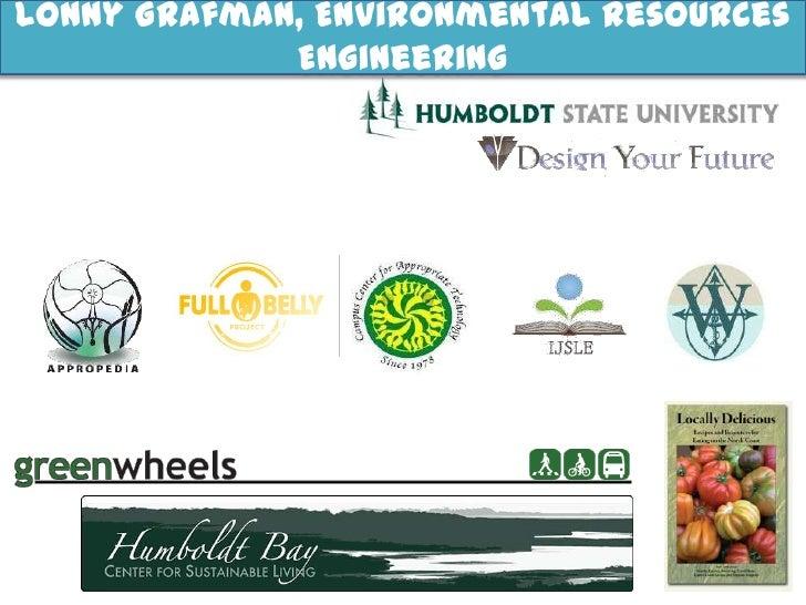 Lonny Grafman, Environmental Resources Engineering<br />