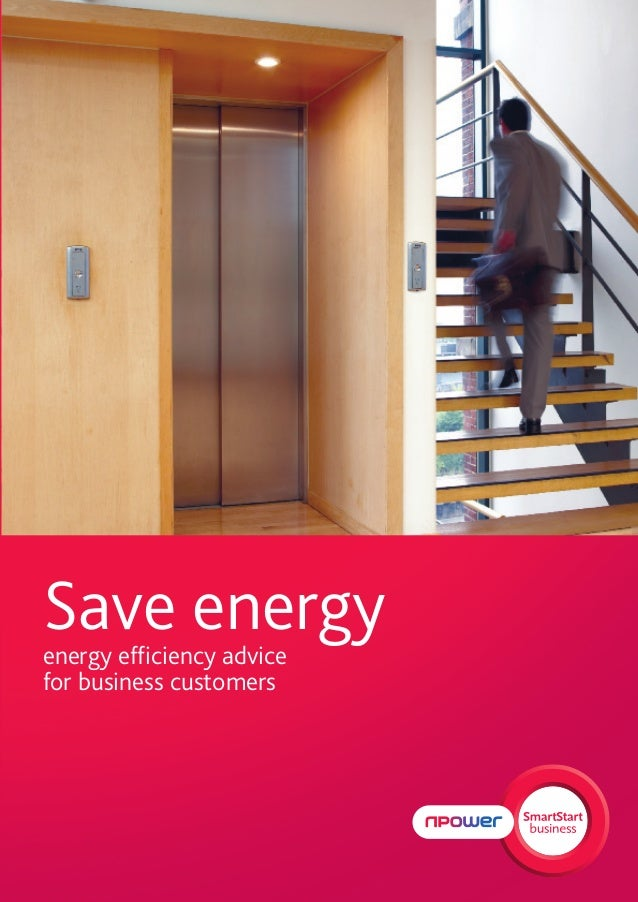 Save energyenergy efficiency advicefor business customers