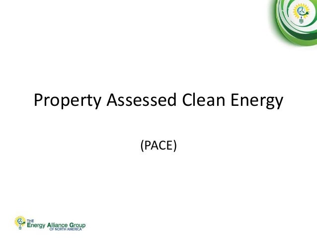 Property Assessed Clean Energy (PACE)