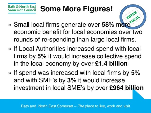 'Think Local': Supporting Local Procurement, Bath & North East Somers…