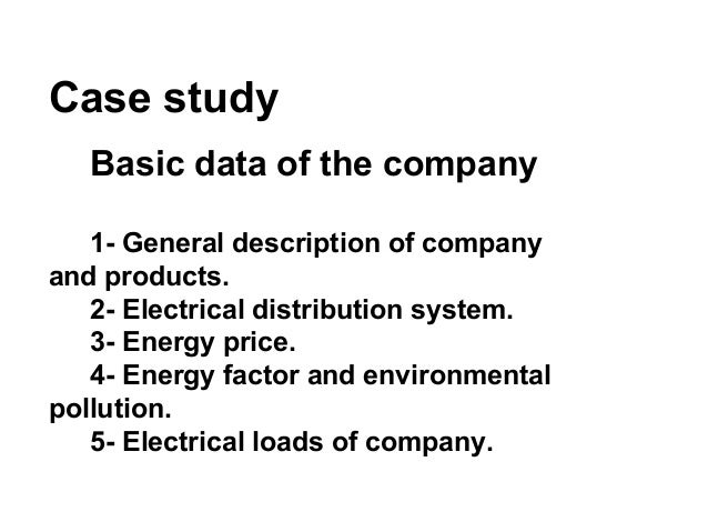 case study general electrics