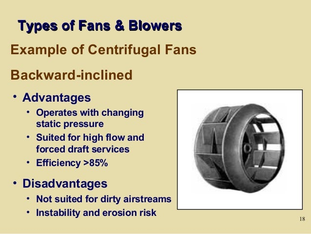 Types Of Industrial Fans : Day fans and pumps
