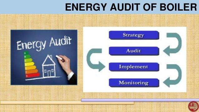 Energy audit of boiler