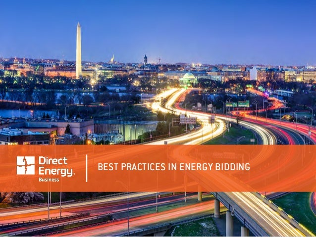 BEST PRACTICES IN ENERGY BIDDING
