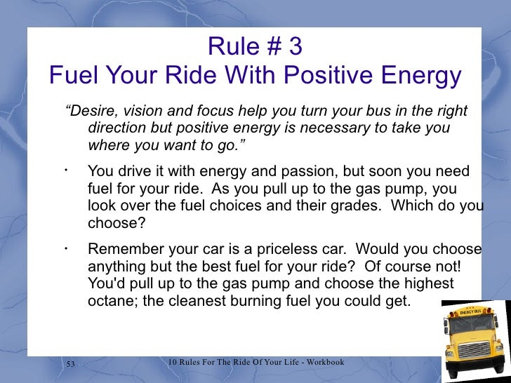 The Energy Bus Quotes Delectable Energy Bus Workshop Draft 1