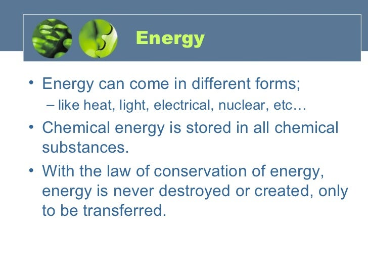 Energy Changes Slide 3