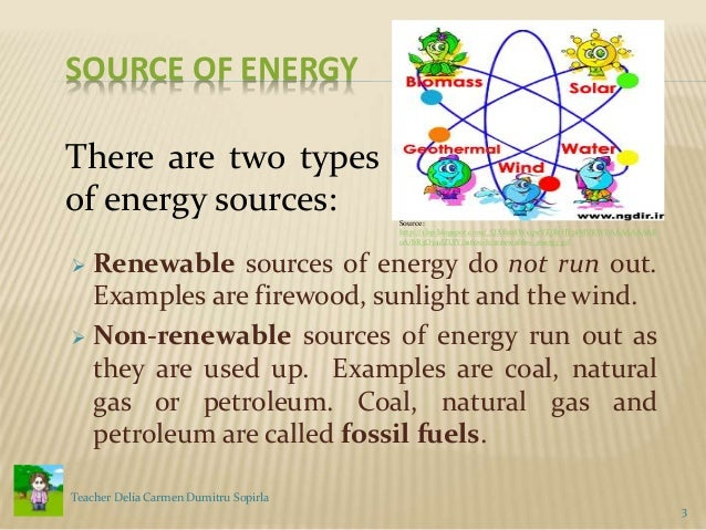 Sources Of Energy Fossil Fuels