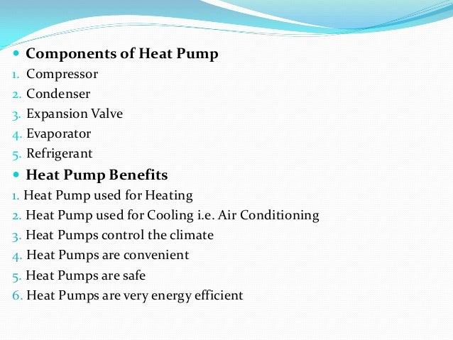 application of heat pump pdf