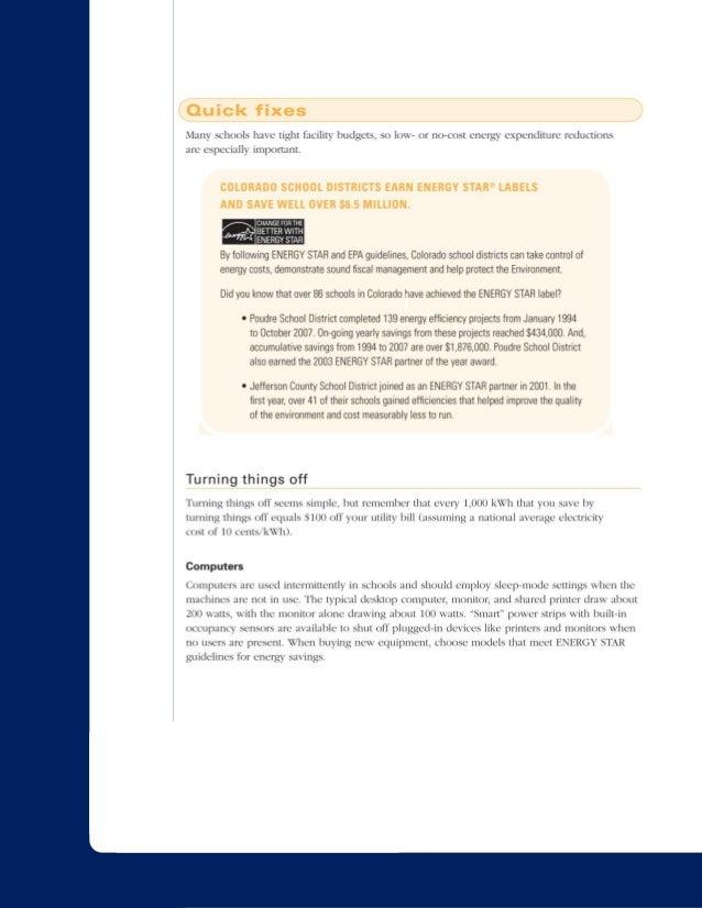 White Paper: Energy Conservation in K12 Schools - PHANTOM