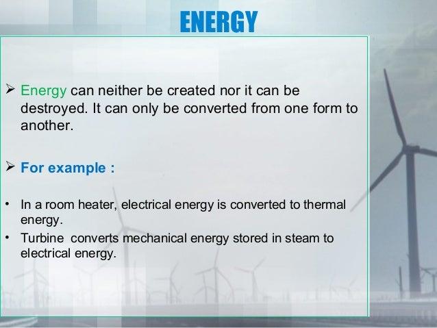 Energy conservation ppt   Slide 2