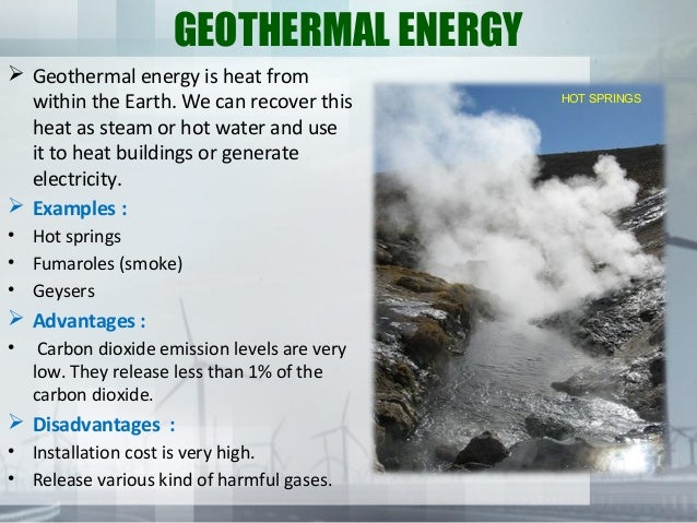 geothermal energy geothermal energy is heat from within the earth