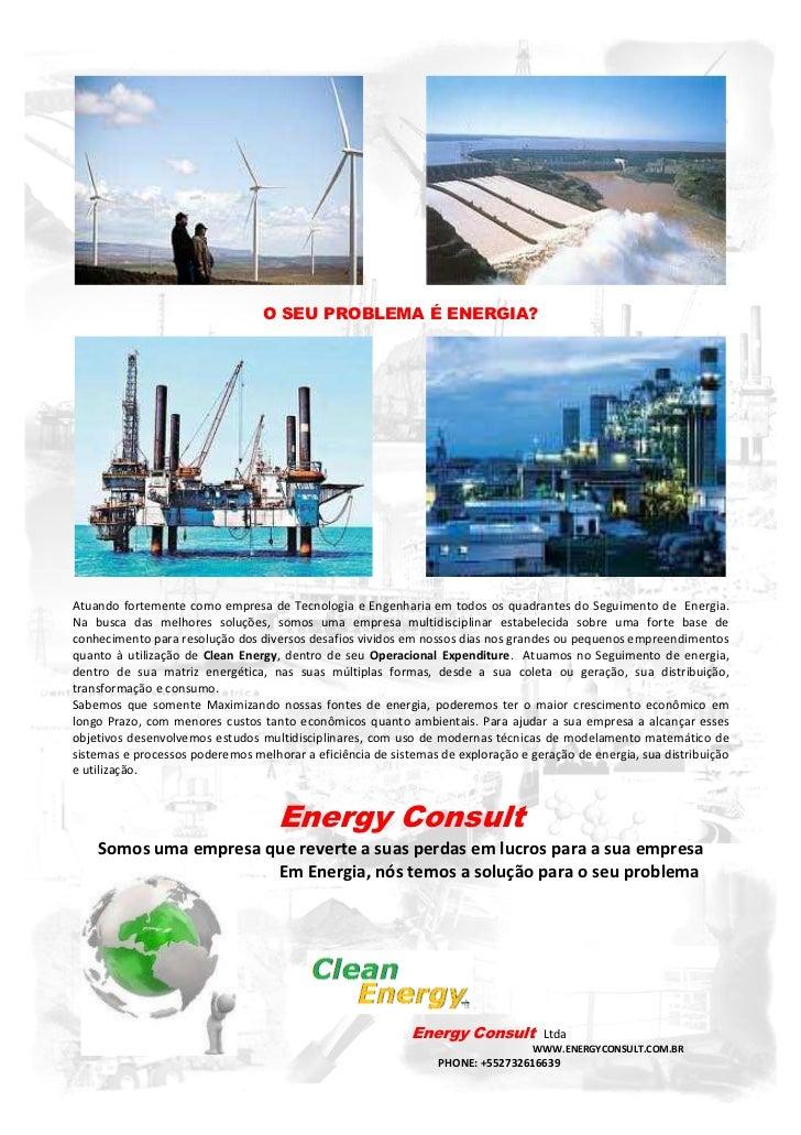 O SEU PROBLEMA É ENERGIA?Atuando fortemente como empresa de Tecnologia e Engenharia em todos os quadrantes do Seguimento d...