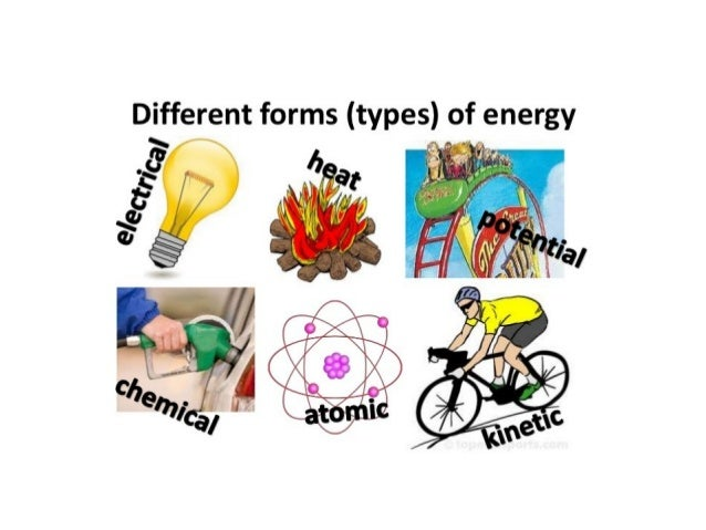 the different types and forms of energy An energy carrier is a substance (energy form) or sometimes a phenomenon (energy system) that contains energy that can be later converted to other forms such as mechanical work or heat or to operate chemical or physical processes.