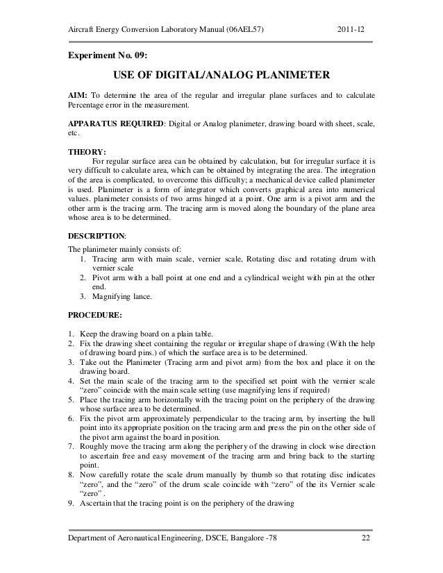 Energy conversion engineering lab manual full