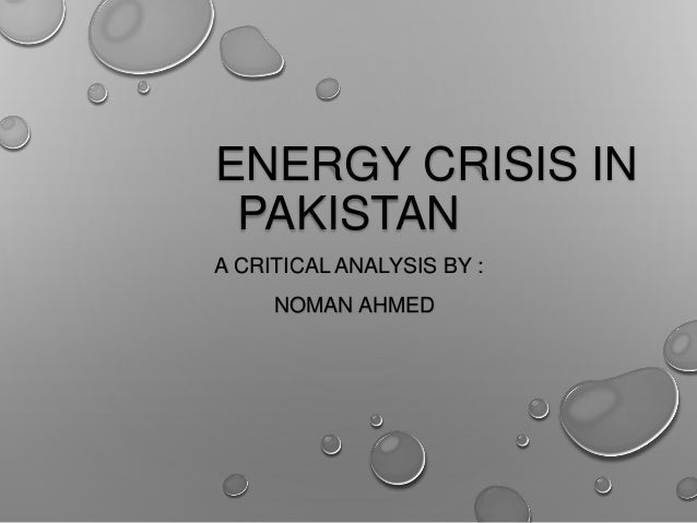Energy crisis in pakistan (1) Slide 2