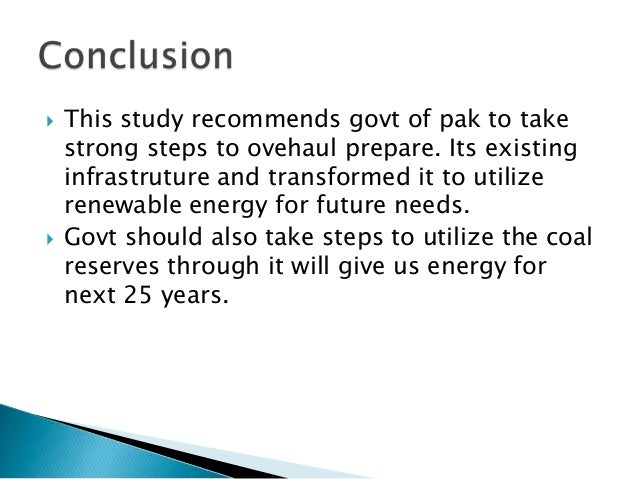 causes of energy crisis in pakistan