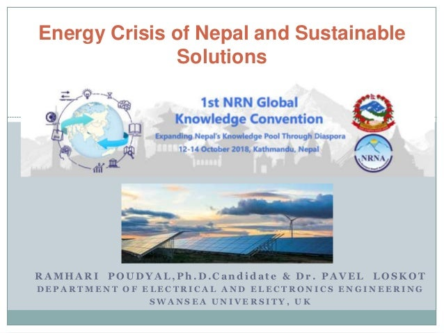 Energy crisis of Nepal and it's sustainable solutions