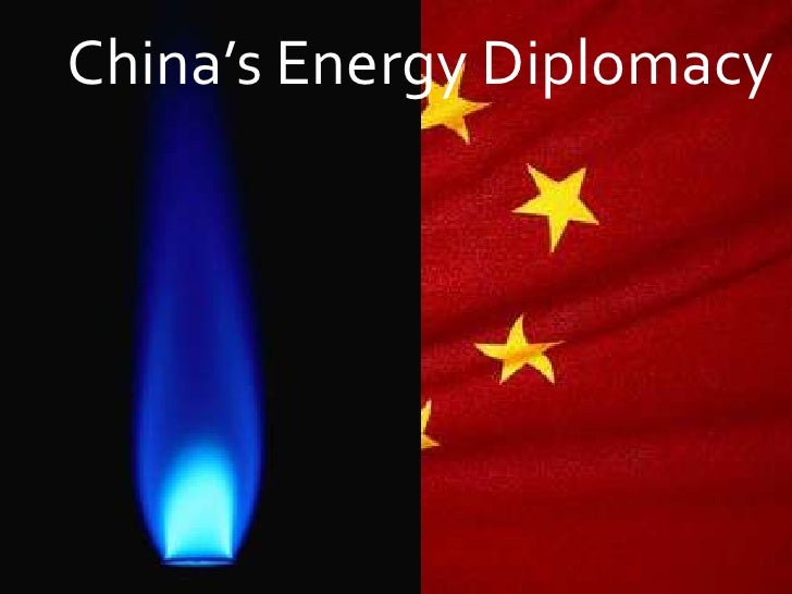 China's Energy Diplomacy<br />