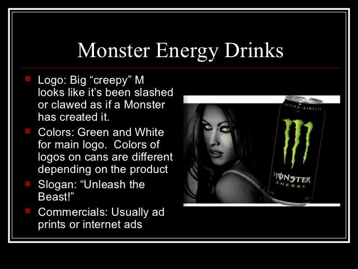 Energy drinks  Monster