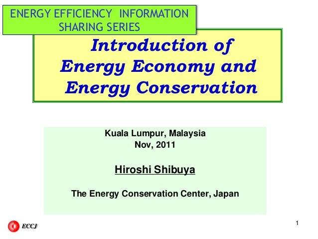 Energy Efficiency Implementation In Japan