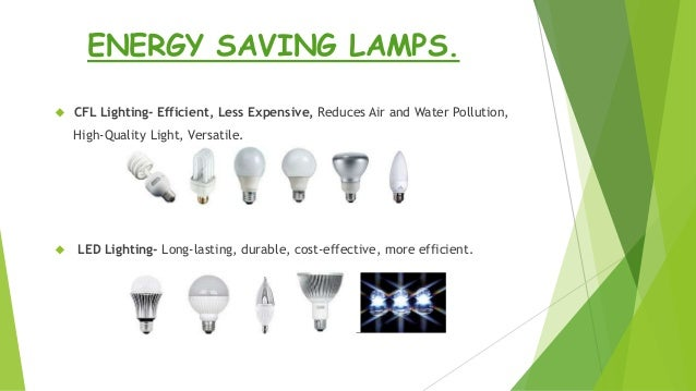 Energy efficiency in electrical system