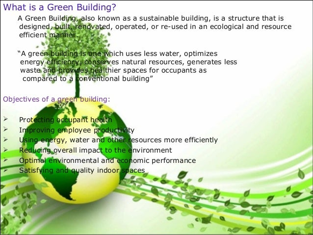 Energy Efficiency In Green Building