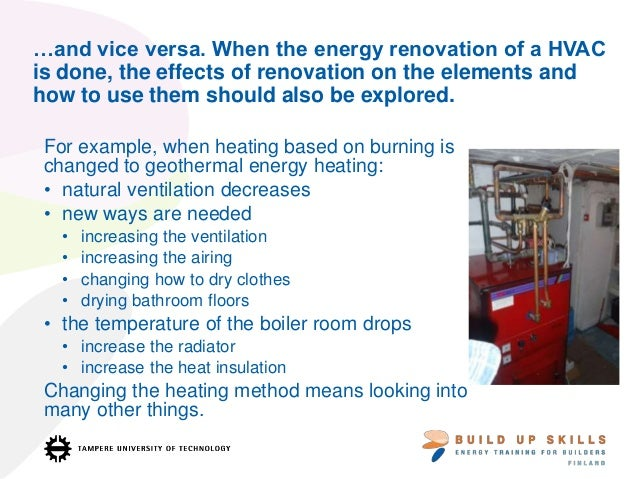 Energy Efficient Renovations : Energy efficient construction and training practices