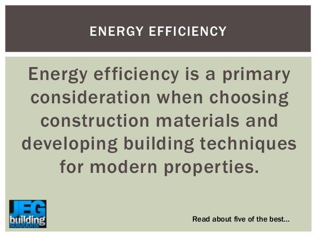 5 amazing energy efficient building materials for Energy efficient roofing material