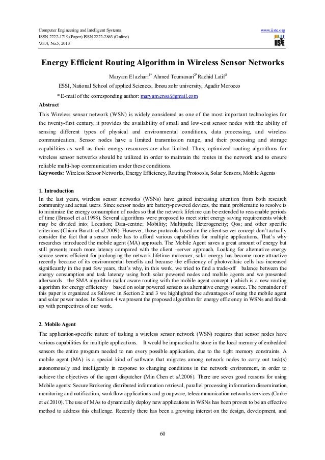 Computer Engineering and Intelligent Systems www.iiste.orgISSN 2222-1719 (Paper) ISSN 2222-2863 (Online)Vol.4, No.5, 20136...