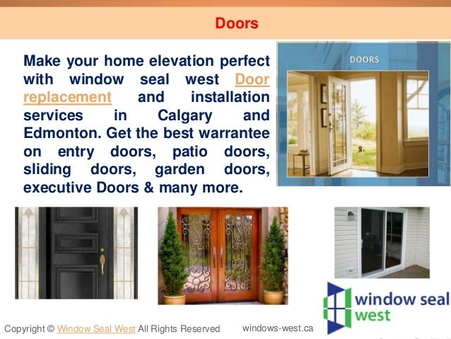 Energy efficient windows doors installation calgary Exterior doors installation calgary