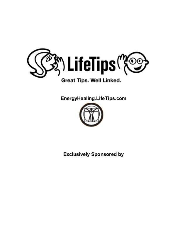 Energy Healing Tip Book