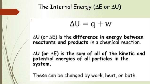 how to work ou the change in energy