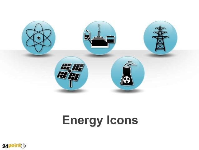 Energy Icons Transportation