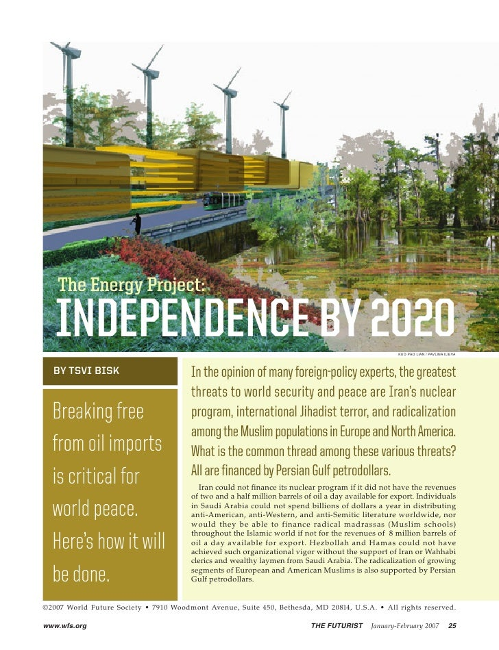 The Energy Project:     INDEPENDENCE BY 2020                                                                              ...