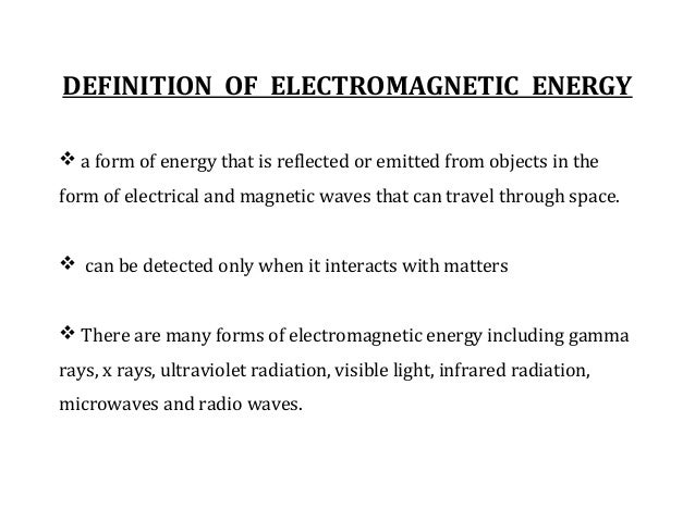 Energy interaction with earth surface features