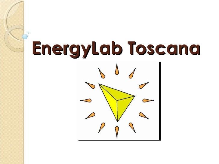 EnergyLab Toscana
