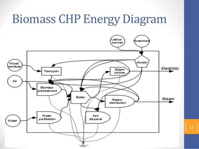 Biomass CHP Energy Diagram 22