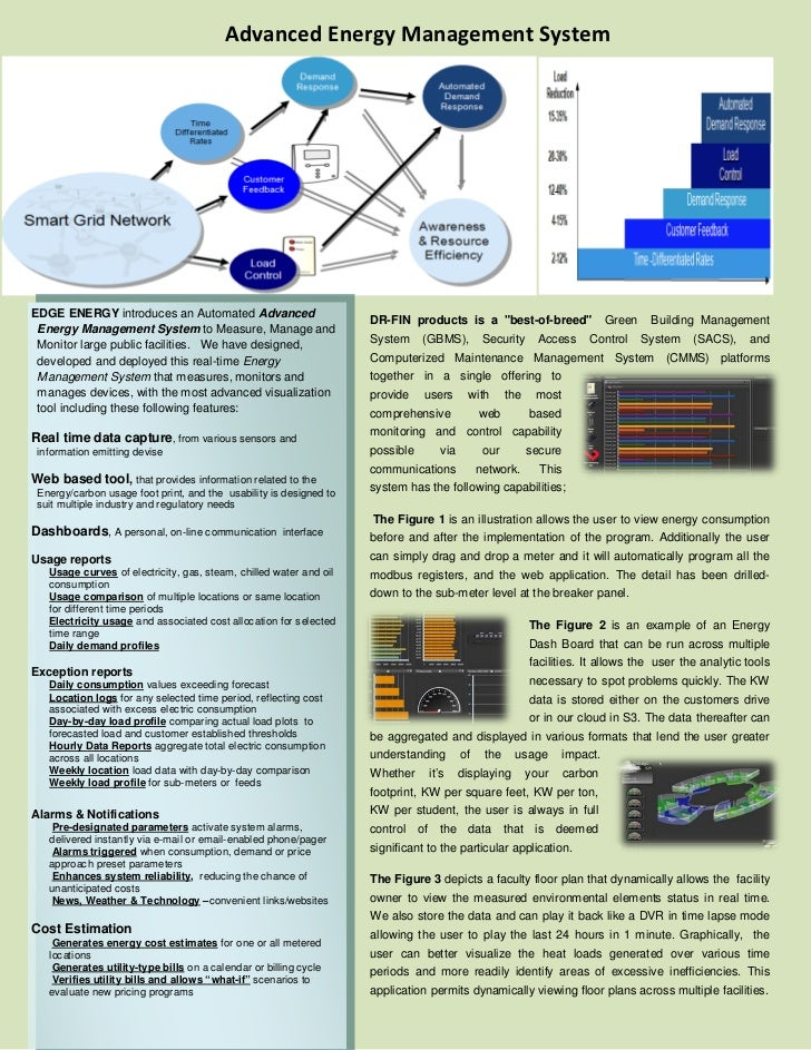 Advanced Energy Management SystemEDGE ENERGY introduces an Automated Advanced                                             ...