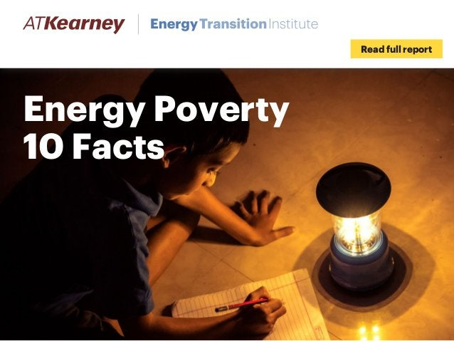 Energy Poverty 10 Facts Read full report