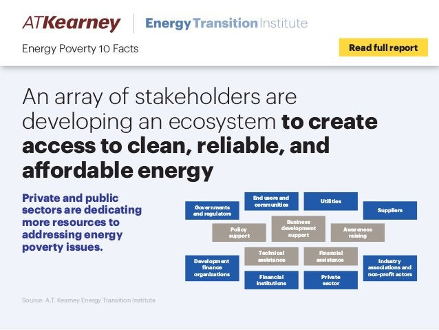 An array of stakeholders are developing an ecosystem to create access to clean, reliable, and affordable energy Read full ...