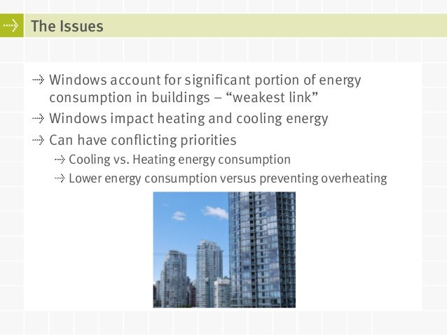 Energy ratings for windows balancing energy consumption for Window ratings