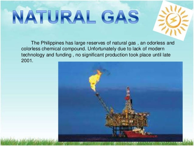 Largest Supply Of Natural Gas In The Philippines