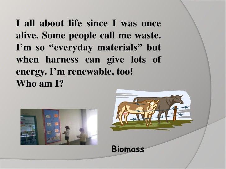 Biomass<br />