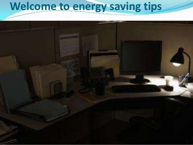 Welcome to energy saving tips