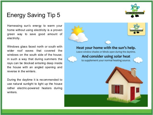 Energy Saving ...